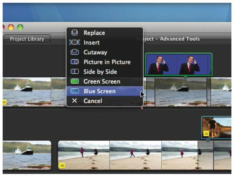 dreamsync imovie advanced features