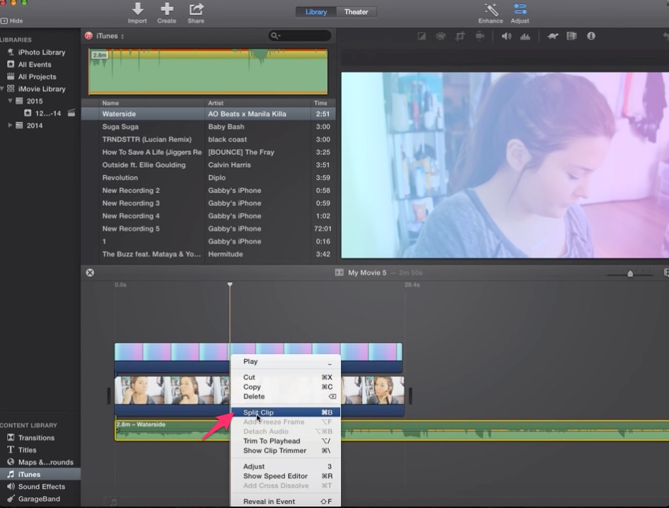 01-right-click-on-song-clip-in-imovie-timeline-and-choose-split-clip-where-you-want-to-transition-song
