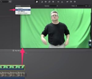 06-select-green-screen-clip-go-to-adjustments-and-choose-green_blue-screen-from-cutaway-drop-down