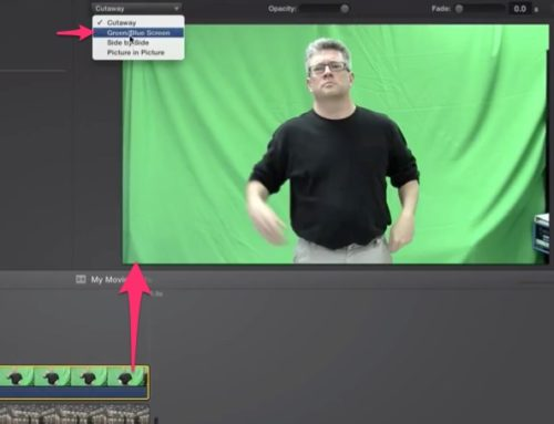Green Screen Your Branded Videos in iMovie