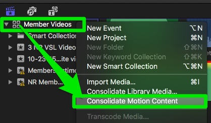motion_media_consolidation final cut FCP X sharing with remote team content creators lounge tutorial
